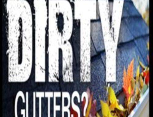 220 Degree Water means Clean Gutters in December – Grand Rapids MI