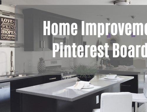 Home Improvement Pinterest Boards