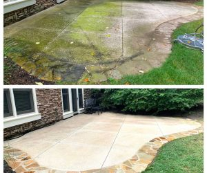 Pressure-Washing-Service-Grand-Rapids-MI-Cement-Cleaning